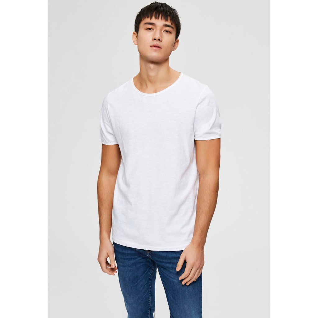 SELECTED HOMME T-Shirt »MORGAN O-NECK TEE«