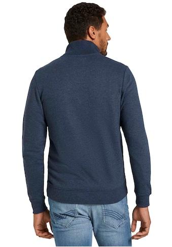 TOM TAILOR Sweatjacke, mit halswärmendem Stehkragen kaufen