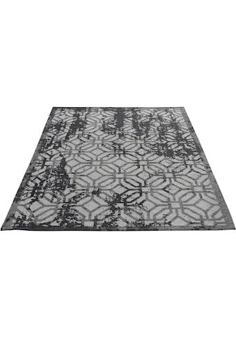Sehrazat Teppich »Carina 6930«, rechteckig, 2 mm Höhe, Flachgewebe mit Baumwolle,... kaufen