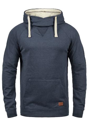 Blend Hoodie »Sales«, Kapuzensweatshirt mit Cross-Over Kragen kaufen
