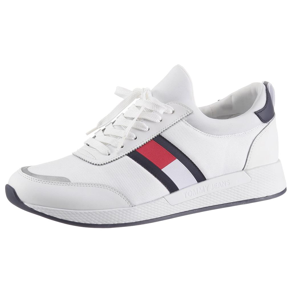 Tommy Jeans Slip-On Sneaker »FLEXI LYCRA TOMMY JEANS RUNNER«, zum Schlupfen