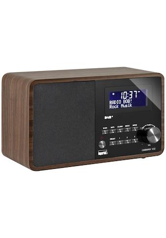 IMPERIAL Digitalradio (DAB+) »Dabman 100 Braun«, (CD Digitalradio (DAB+)-FM-Tuner) kaufen