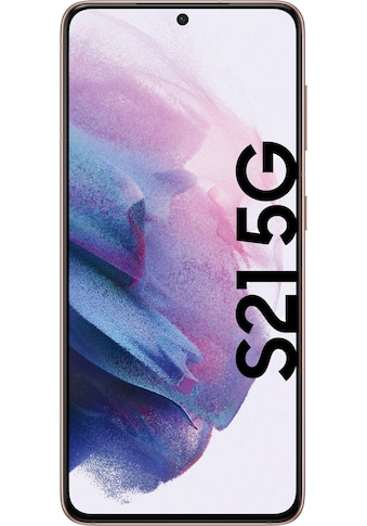 """Samsung Smartphone »Galaxy S21«, (15,84 cm/6,2 """", 128 GB Speicherplatz, 64 MP Kamera),... kaufen"""
