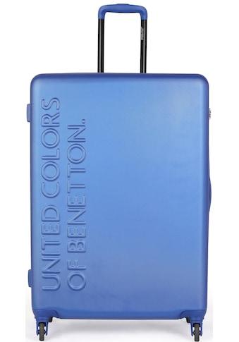 United Colors of Benetton Hartschalen-Trolley »UCB, 77 cm, Royal Blue«, 4 Rollen kaufen