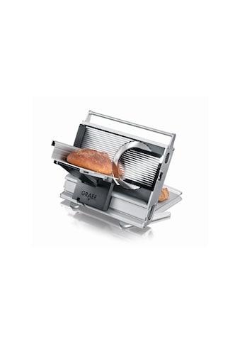 Schneidemaschine Una 10 Silberfarben, Graef kaufen