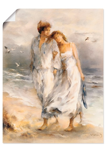 Artland Wandbild »Verliebt«, Paar, (1 St.), in vielen Grössen & Produktarten... kaufen
