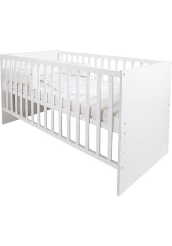 roba® Babybett »safe asleep® Sternenzauber«, inkl. Matratze, Nestchen und Schlafsack kaufen