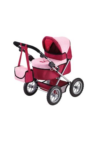 """Bayer Puppenwagen """"Trendy, Prinzessin rot/rosa"""" kaufen"""