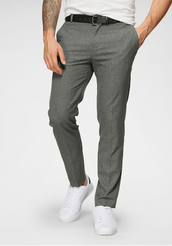 Calvin Klein Stoffhose »MOULINE TWILL GRID TAPERED PANTS« kaufen