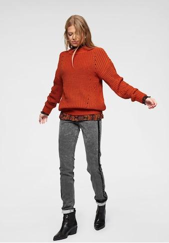 Aniston CASUAL Stehkragenpullover, im Mustermix kaufen