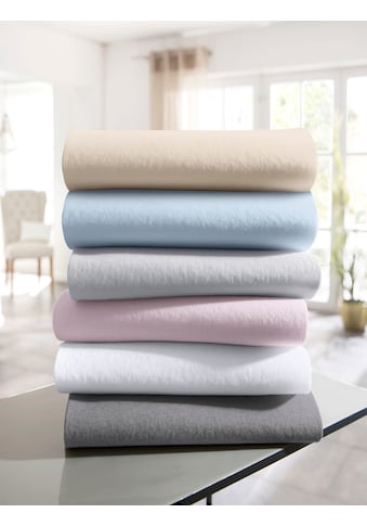 andas Spannbettlaken »Greta«, Edel-Jersey aus reiner Baumwolle kaufen