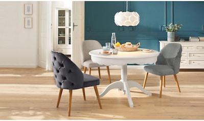 Home affaire 4-Fussstuhl »Desna«, in drei verschiedenen Farben und toller Holzoptik,... kaufen