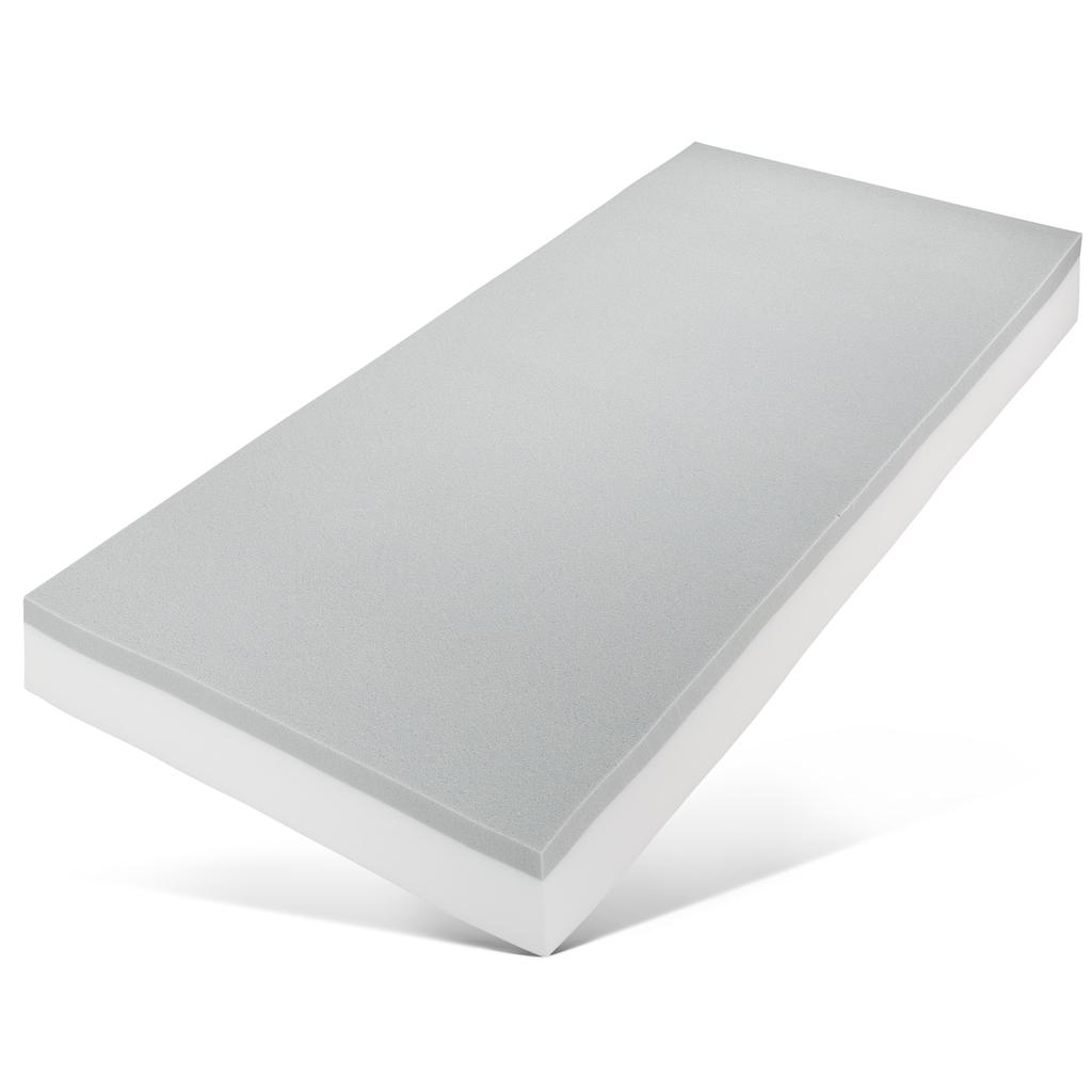 my home Komfortschaummatratze »Jerecy«, (1 St.), mit 5 cm hoher, atmungsaktiver, weicher Softschaumauflage «Air Foam», ideale Körperanpassung und hervorragende Druckentlastung