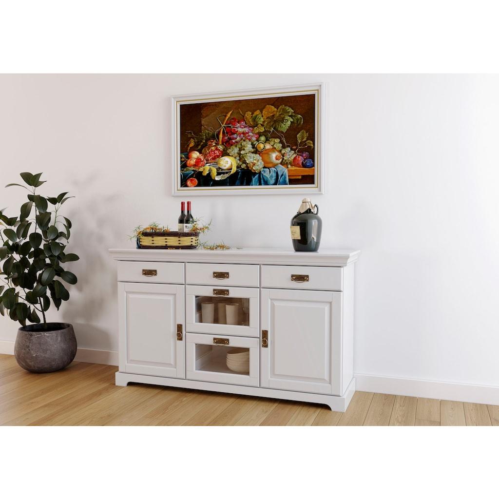 Home affaire Buffet »Ruegen«, aus Massivholz, im Landhausstil