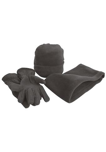 Result Strickmütze »Unisex Active Fleece Winter-Set mit Mütze, Handschuhen und... kaufen