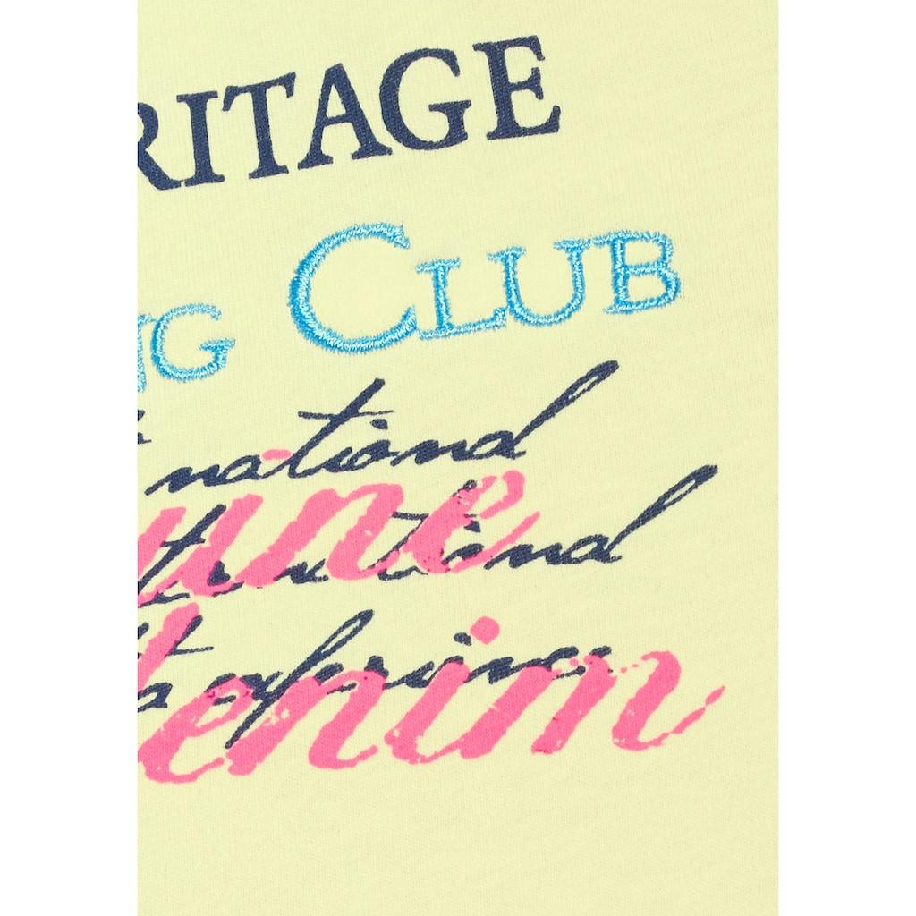 Cipo & Baxx Poloshirt »Rowing Club«, bis Gr. 5XL