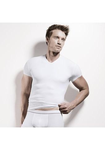 Isa Unterziehshirt »Shirt kurzarm V-Ausschnitt - Flash Basic«, (2 St., 2er-Pack) kaufen
