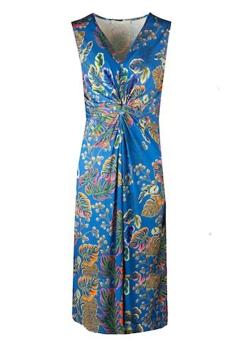 bianca Jerseykleid »DINORAH«, im stylischen Jungle-Print mit Knoteneffekt kaufen