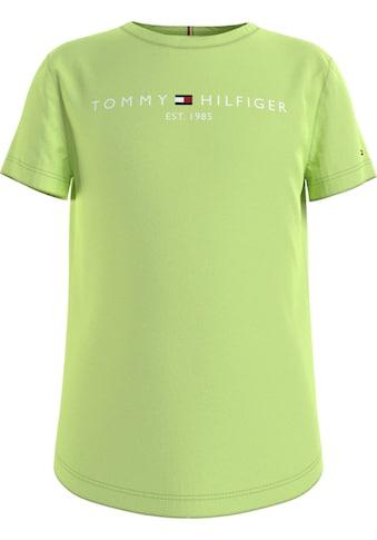 TOMMY HILFIGER T-Shirt »ESSENTIAL TEE S/S«, mit Tommy Hilfiger Brustdruck kaufen