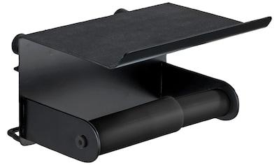 WENKO Toilettenpapierhalter »Classic Plus Black« kaufen