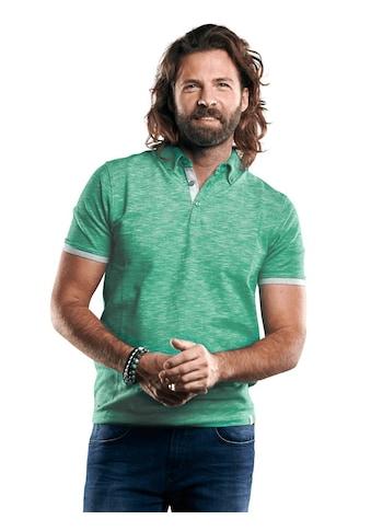 emilio adani Poloshirt mit modischem Button Down Kragen kaufen