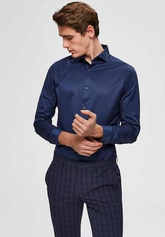 SELECTED HOMME Langarmhemd »SLIM SEL-PELLE SHIRT« kaufen