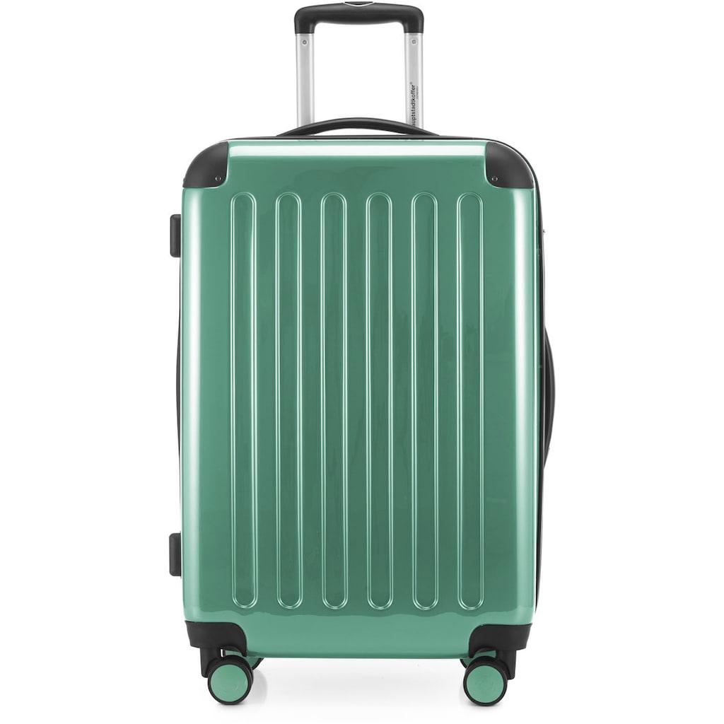 Hauptstadtkoffer Hartschalen-Trolley »Alex, 65 cm, Mint«, 4 Rollen