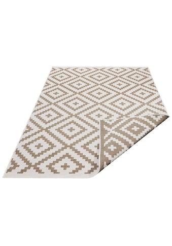 my home Teppich »Ronda«, rechteckig, 5 mm Höhe, Sisal-Optik, Wendeteppich, In- und Outdoor geeignet, Wohnzimmer kaufen