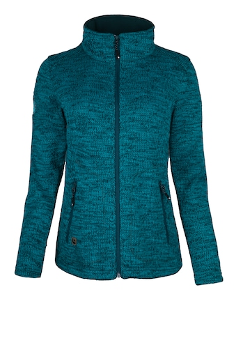 DEPROC Active Strickfleecejacke »WILLMORE MELANGE WOMEN«, in edler Optik kaufen