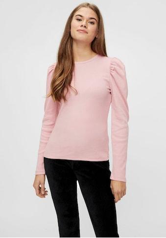 pieces Langarmshirt »PCANNA«, in gestreift oder uni kaufen