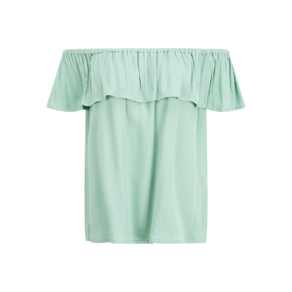 Ichi T-Shirt »IHMARRAKECH SO SS«, schulterfreies Shirt