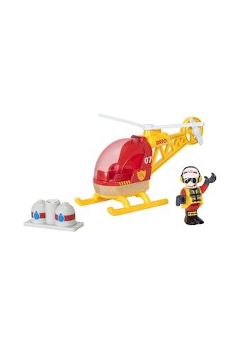 BRIO® Spielzeug-Auto »Feuerwehr Hubschrauber« kaufen