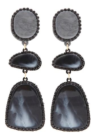 J.Jayz Paar Ohrstecker »zeitlos und elegant, einzigartig marmoriertes Acryl«, mit... kaufen