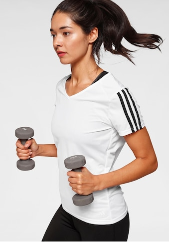 adidas Performance Laufshirt »RUN 3 STRIPES TEE W« kaufen