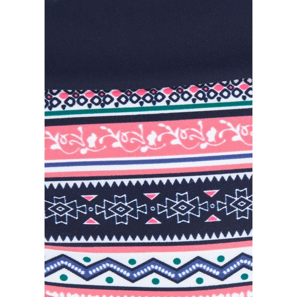 s.Oliver Beachwear Bügel-Bikini-Top »Barcelona«, mit modernem Ethno-Print