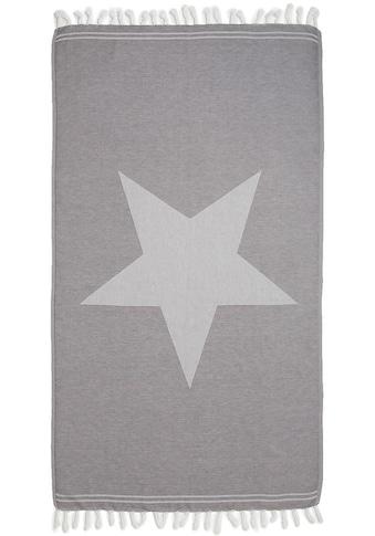 Seahorse Hamamtuch »Asteris«, (1 St.), mit grossem Stern kaufen