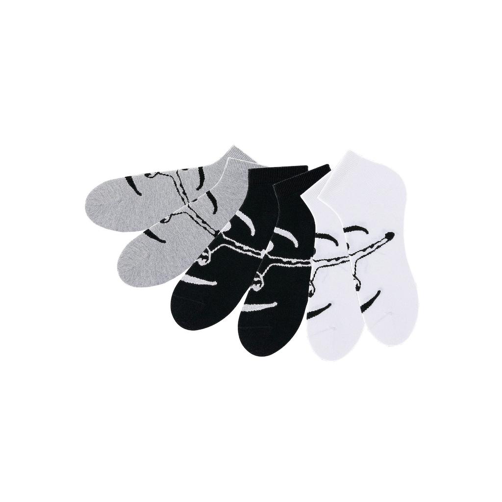 Chiemsee Sneakersocken, (6 Paar), ideal für Sport & Freizeit