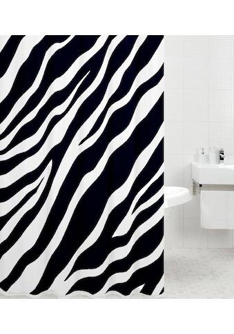 Sanilo Duschvorhang »Zebra«, Breite 180 cm kaufen