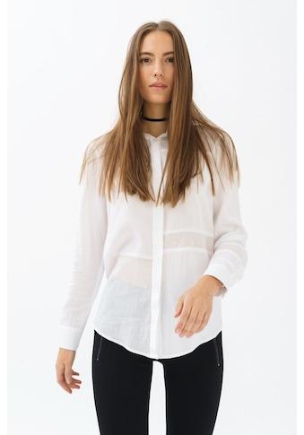 trueprodigy Hemdbluse »Tiffany«, mit Hemdkragen und verdeckter Knopfleiste kaufen