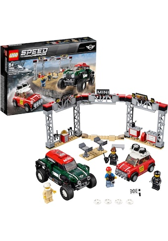 """LEGO® Konstruktionsspielsteine """"Rallyeauto 1967 Mini Cooper S und Buggy 2018 Mini John Cooper Works (75894), LEGO® Speed Champions"""", Kunststoff, (481 - tlg.) kaufen"""