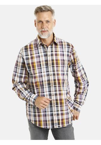 Jan Vanderstorm Karohemd »VERMUNDUR«, Baumwollhemd, Comfort Fit kaufen