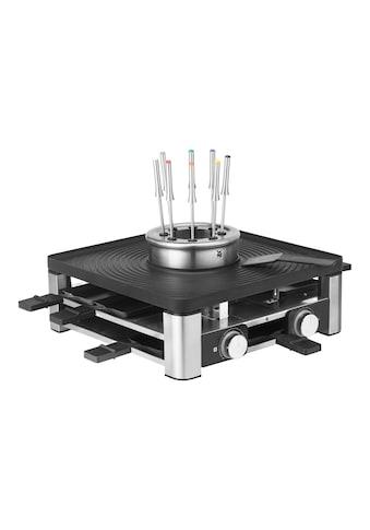 WMF Raclette und Fondue-Set »Lumero«, 8 St. Raclettepfännchen, 1800 W kaufen