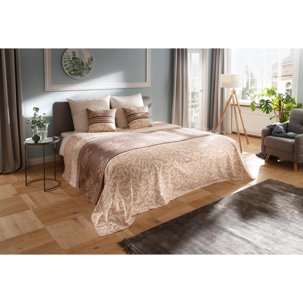 my home Tagesdecke »Bela«, auch als Tischdecke und Sofaüberwurf einsetzbar