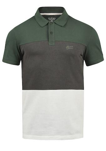 Blend Poloshirt »Lauran«, Polo in Tricolor-Blockstreifen-Optik kaufen