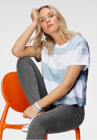 Levi's® T-Shirt, mit breiten Streifen kaufen