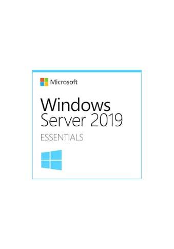 Windows Server 2019, Microsoft, »Essentials 64 bit,1 - 2 CPU, EN« kaufen