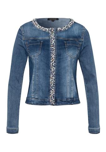 MORE&MORE Decorated Denim Jacket Active kaufen