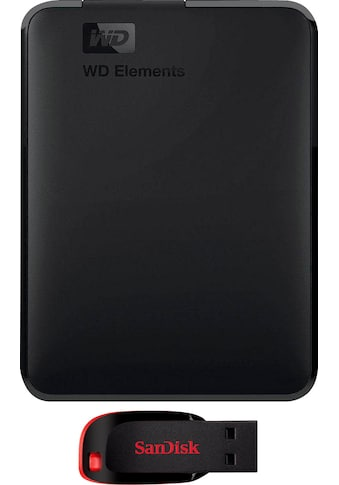 "WD externe HDD-Festplatte »Elements Portable«, 2,5 "" kaufen"