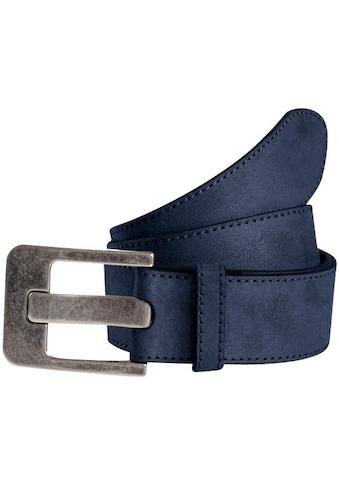 TOM TAILOR Ledergürtel, weiche Oberfläche kaufen