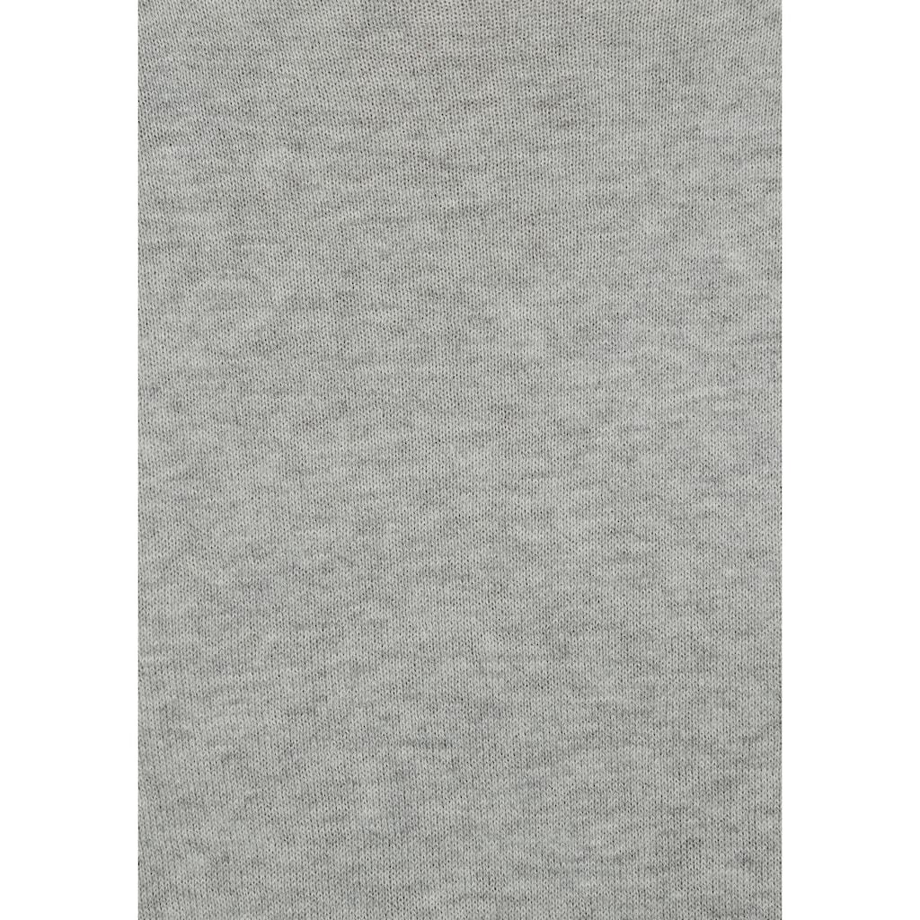 John Devin Rundhalspullover, aus leichtem Material